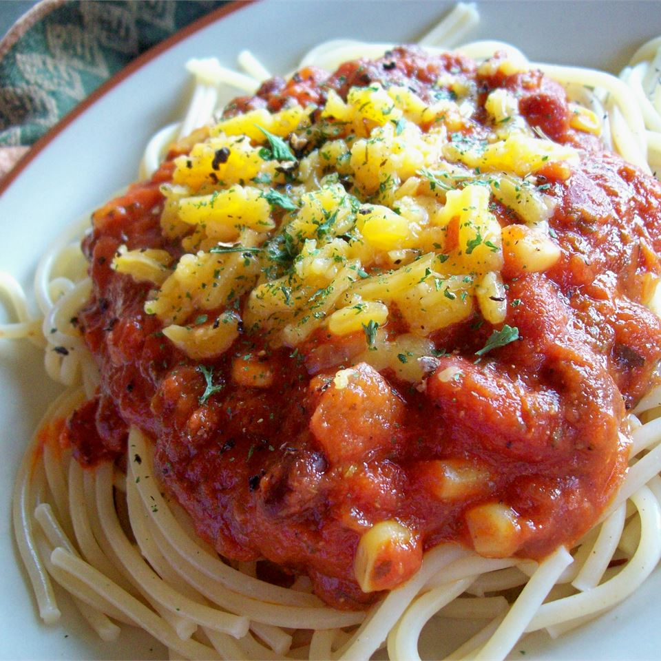 Spaghetti with a Kick Lisa