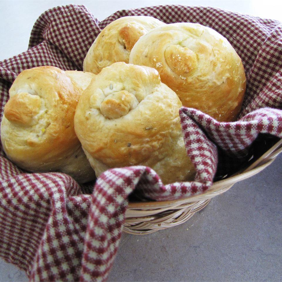 Potato Rosemary Rolls Dianne