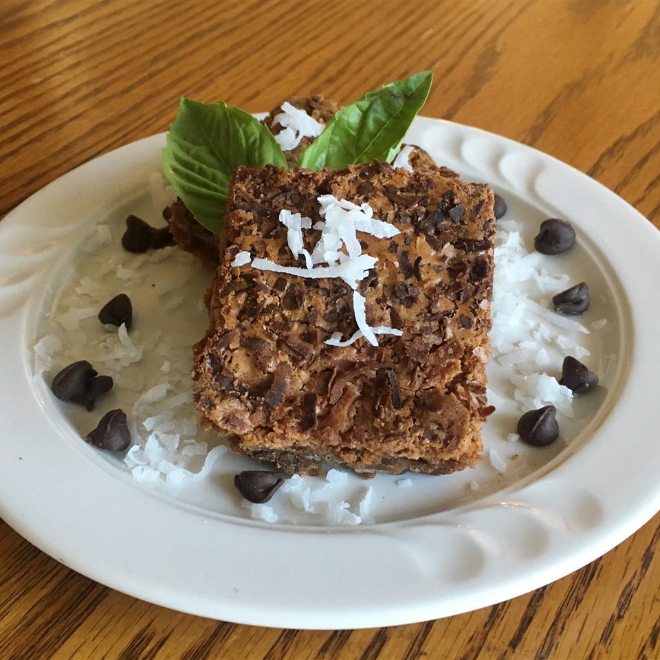 Emily's Chocolate Coconut Brownies