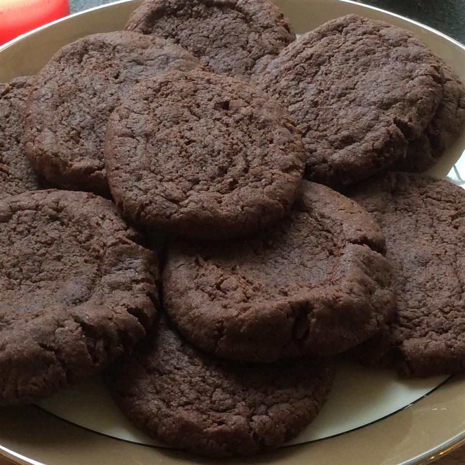 Vegan Chocolate Fudge Cookies