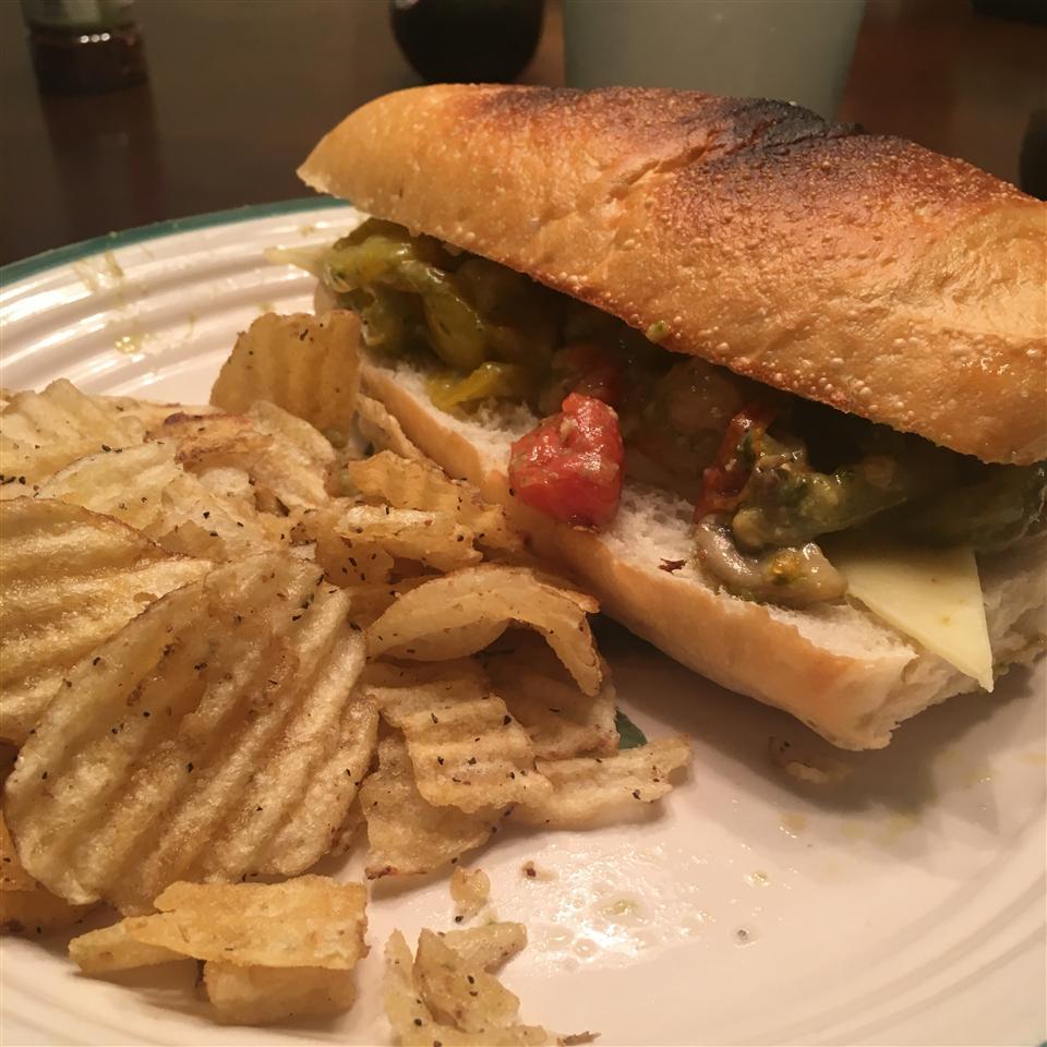 Chicken Pesto Sandwich Jose Marin
