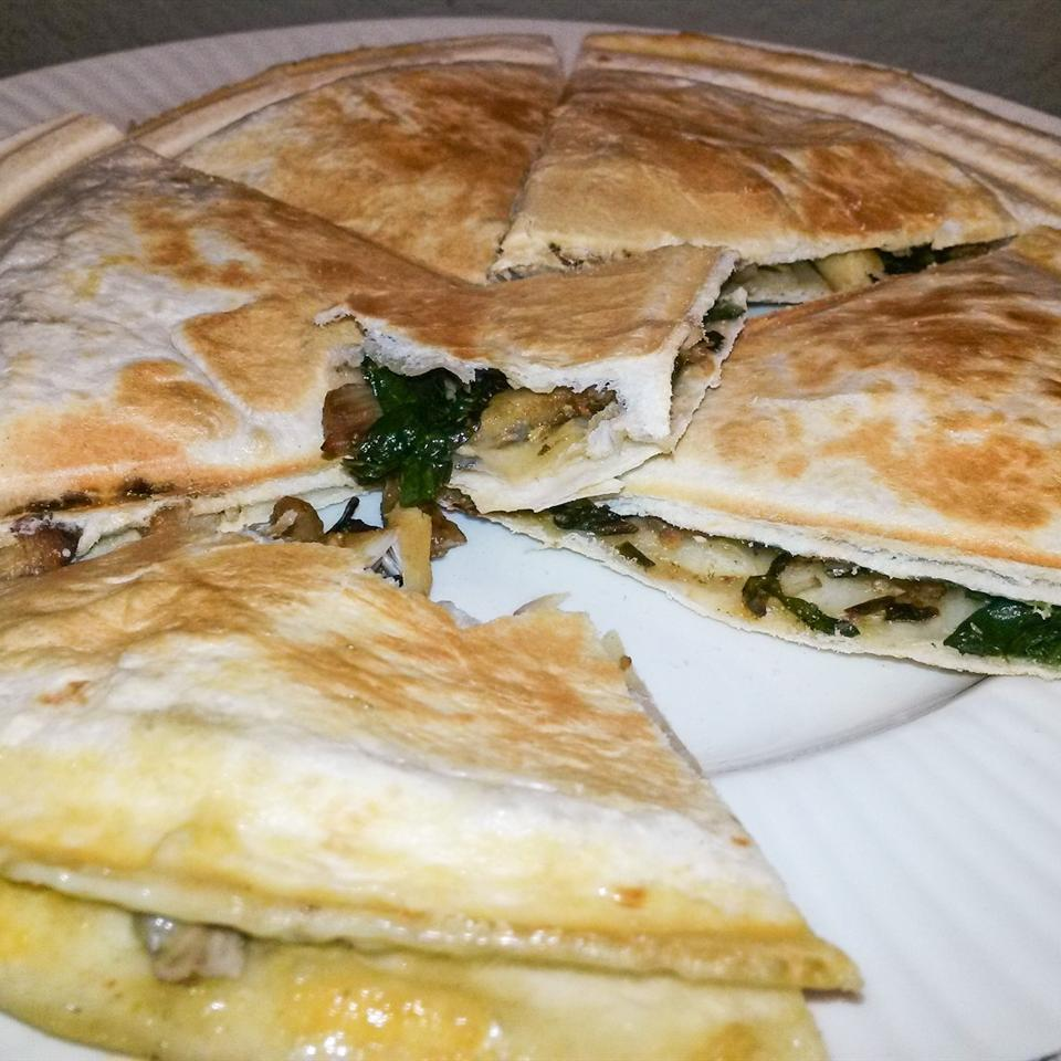 Chicken Gorgonzola Quesadillas