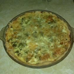 Easy Broccoli Quiche Melissa