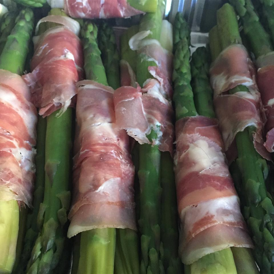 Cold Asparagus with Prosciutto and Lemon Miriam Jean-Charles