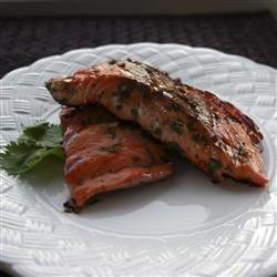 Grilled Cilantro Salmon ChristineM