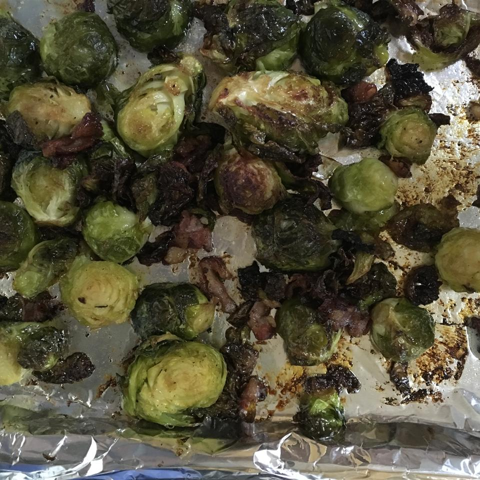 Fried Brussels Sprouts cynde
