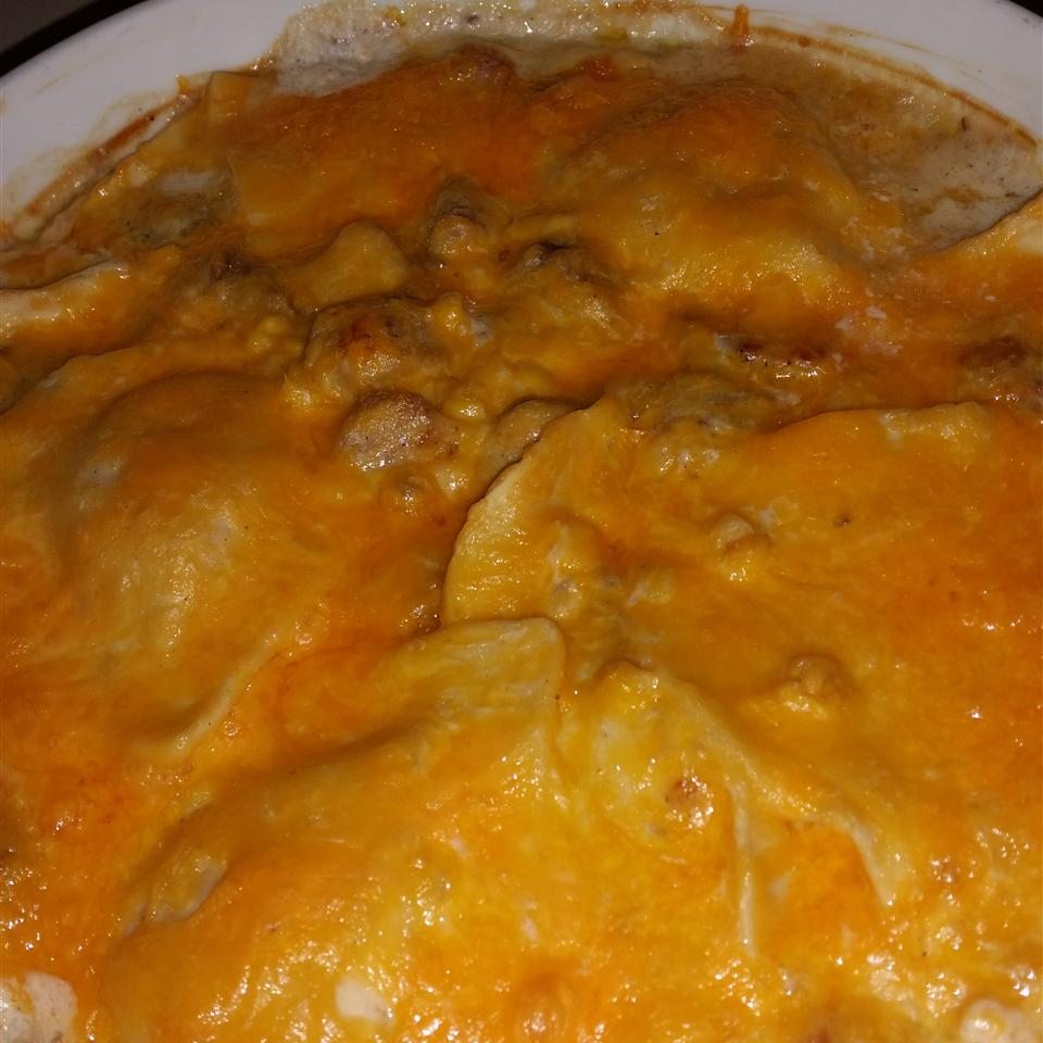 Momma Moots' Pork and Pierogies Casserole Deena