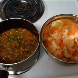 Shrimp with Tomatoes and Feta Cheese John