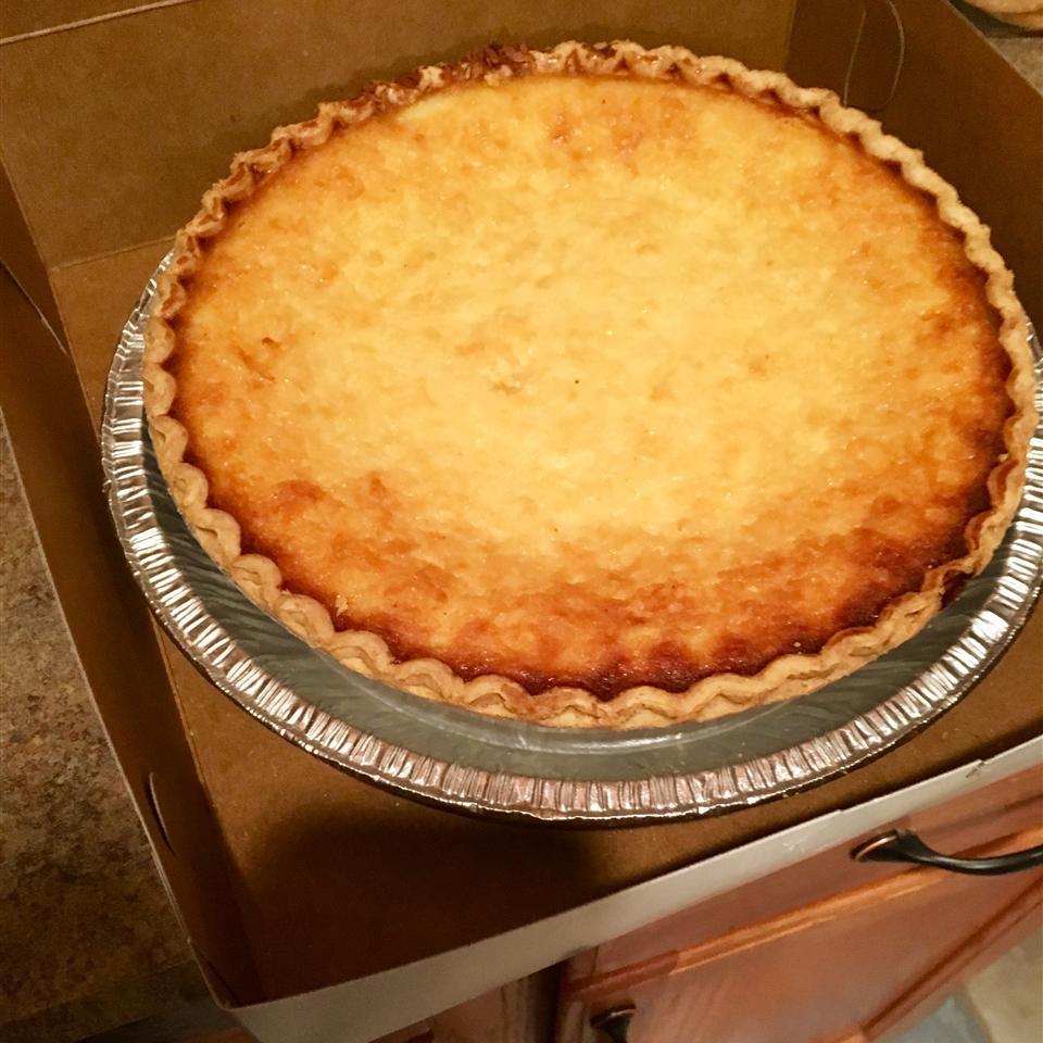 Coconut Custard Pie IV
