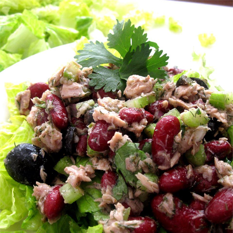 Kidney Bean Tuna Salad 5boys2cook4