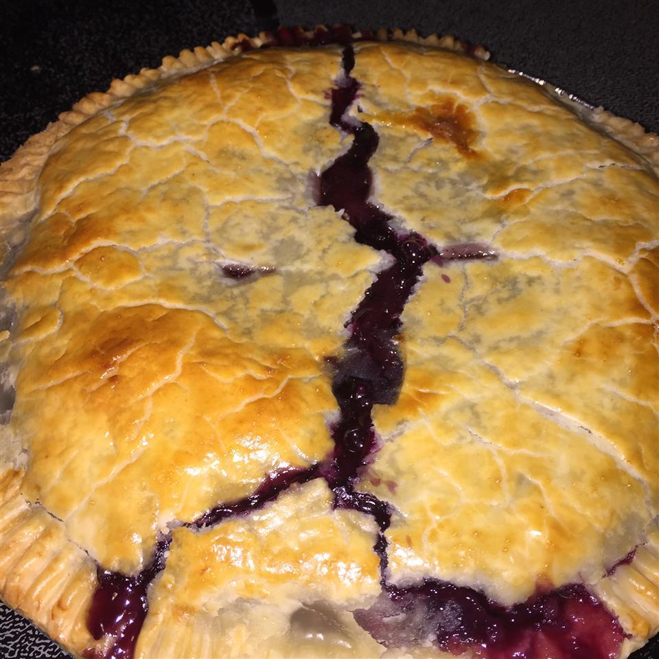Ultimate Gooey Blueberry Pie