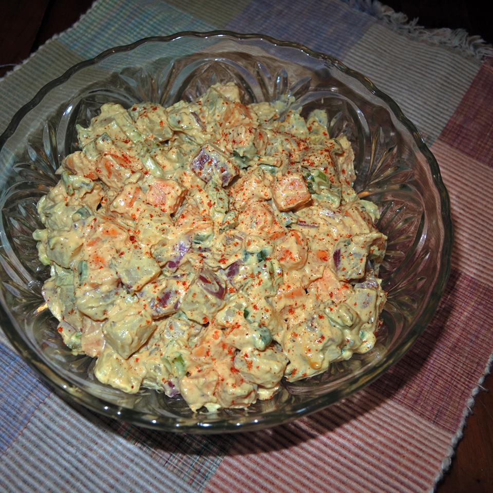 Spicy Sweet Potato Salad NCwriter