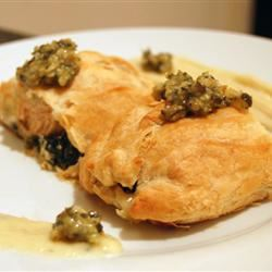 Puff Pastry Salmon lycia