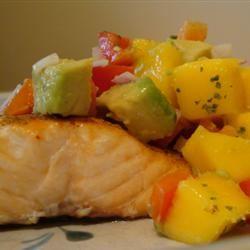 Lime-Marinated Grilled Salmon Gitano