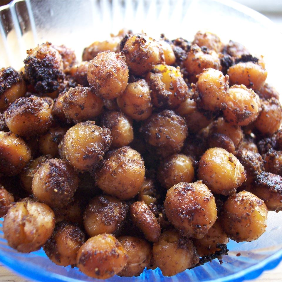 Indian-Spiced Roasted Chickpeas Cooking Kitty