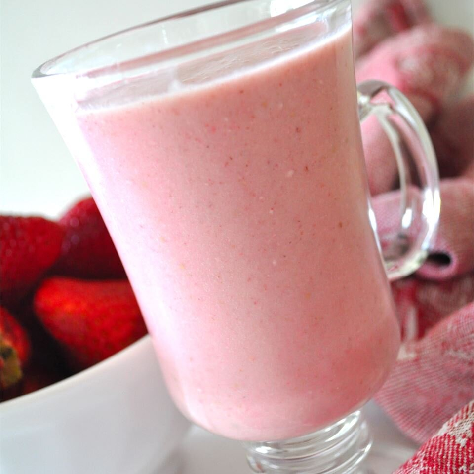B And L S Strawberry Smoothie Recipe Allrecipes