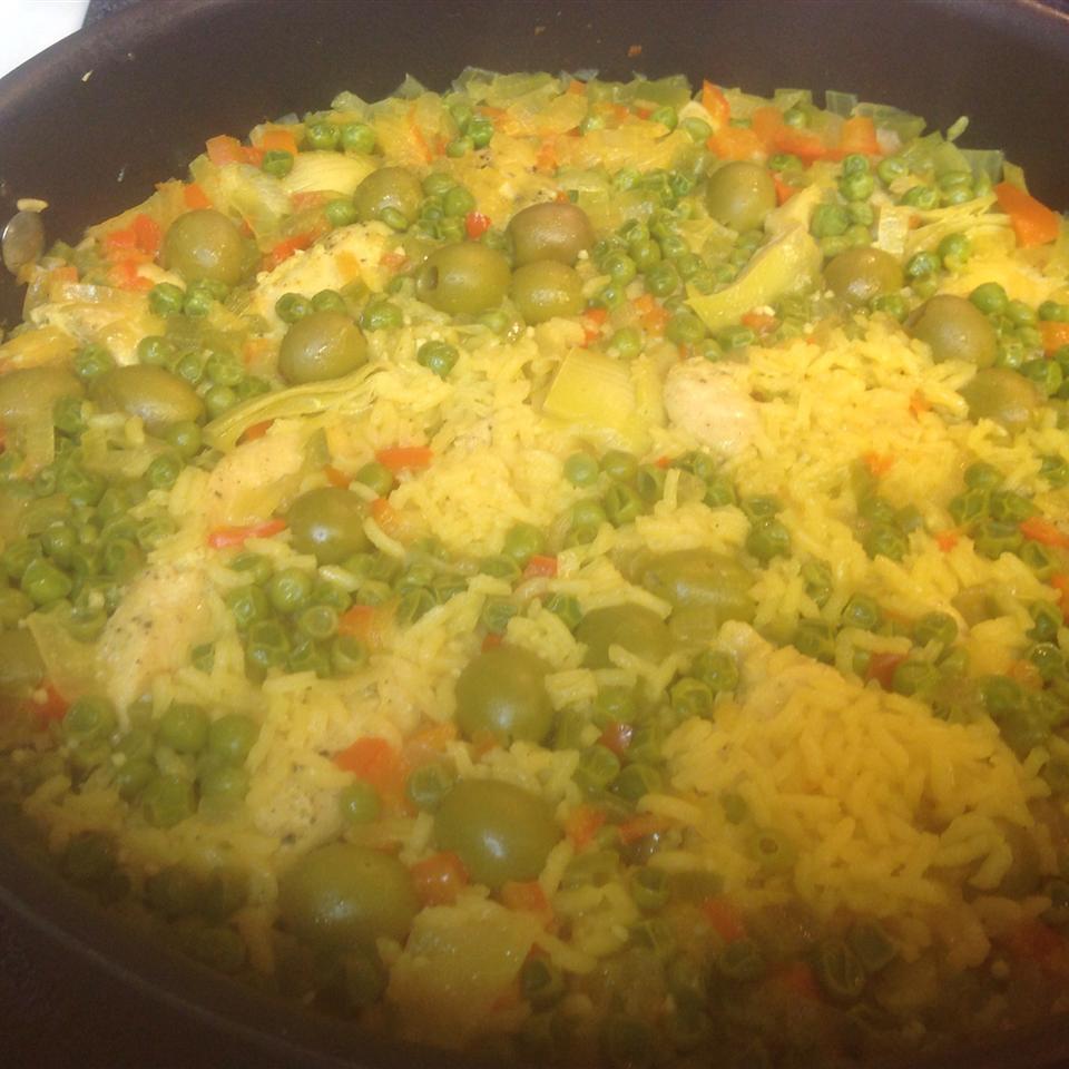 Arroz con Pollo (Chicken and Rice) Rebecca Cahoon