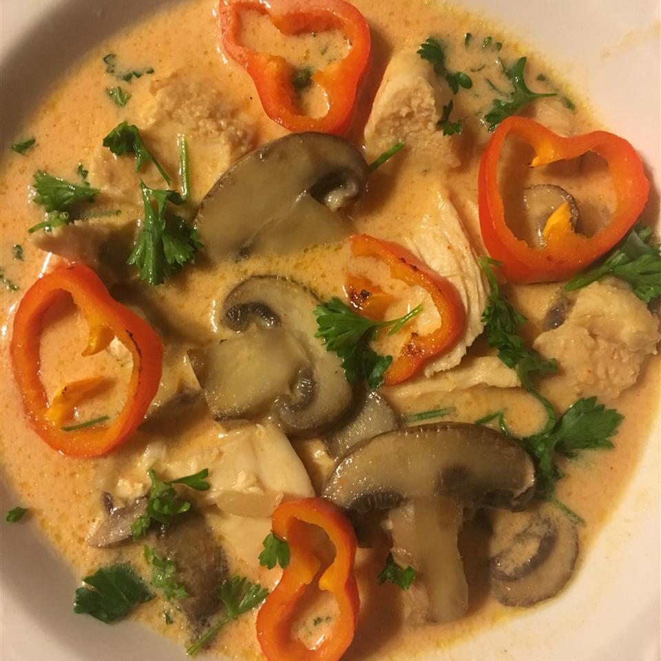 Spicy Chicken Thai Soup NurseCarol1974