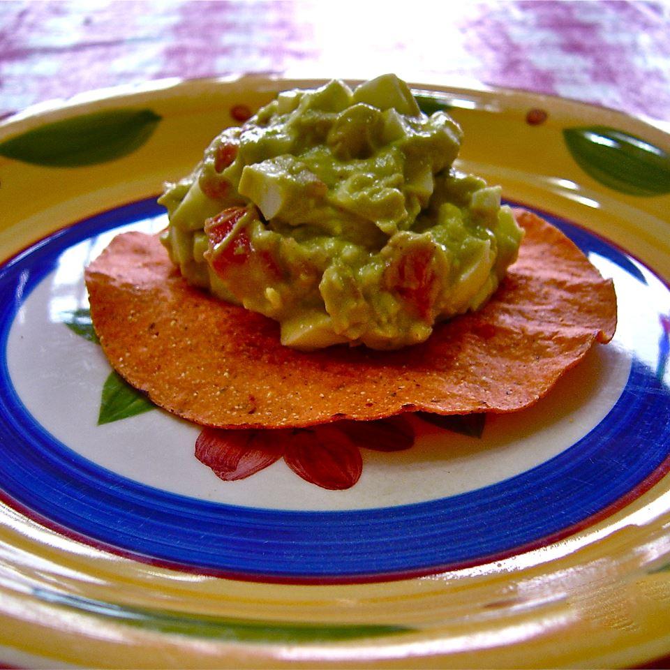 Avocado-Egg Salad Tostada Filling