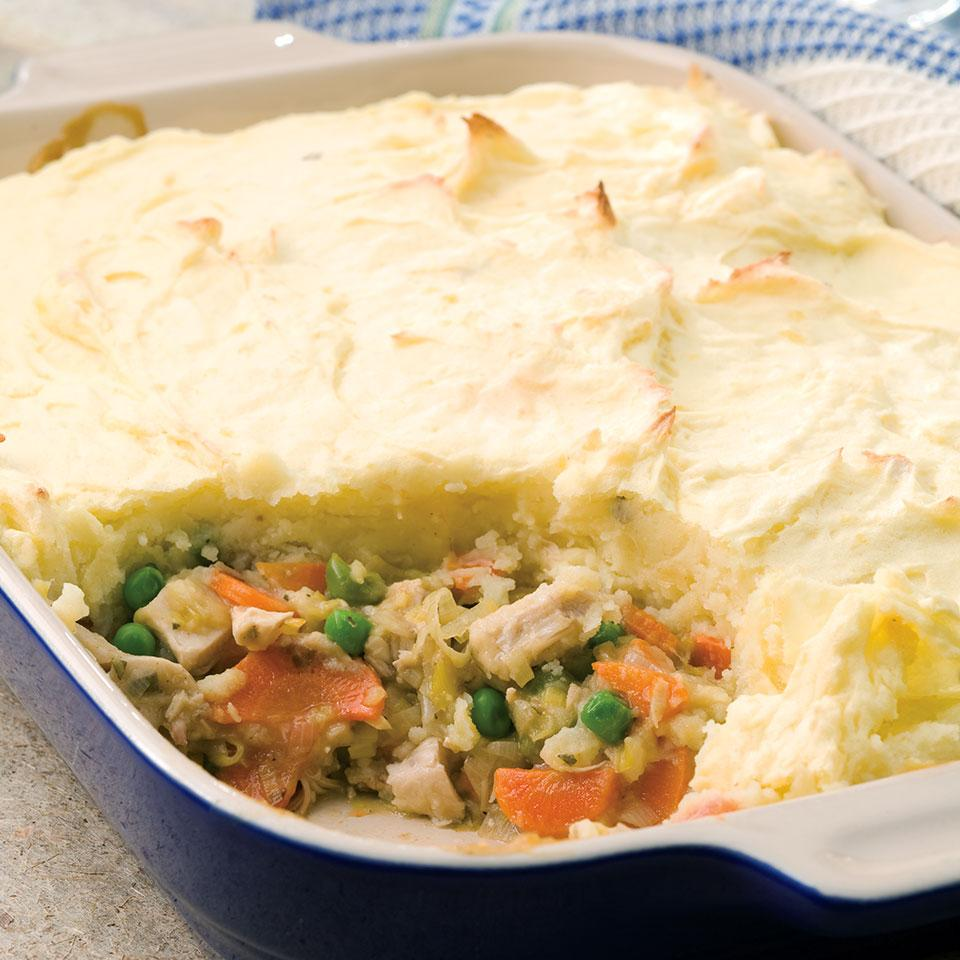 Turkey & Leek Shepherd's Pie EatingWell Test Kitchen