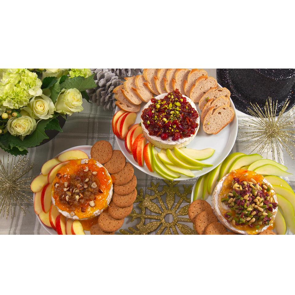 Baked Brie with Caramelized Onions and Hazelnuts Trusted Brands
