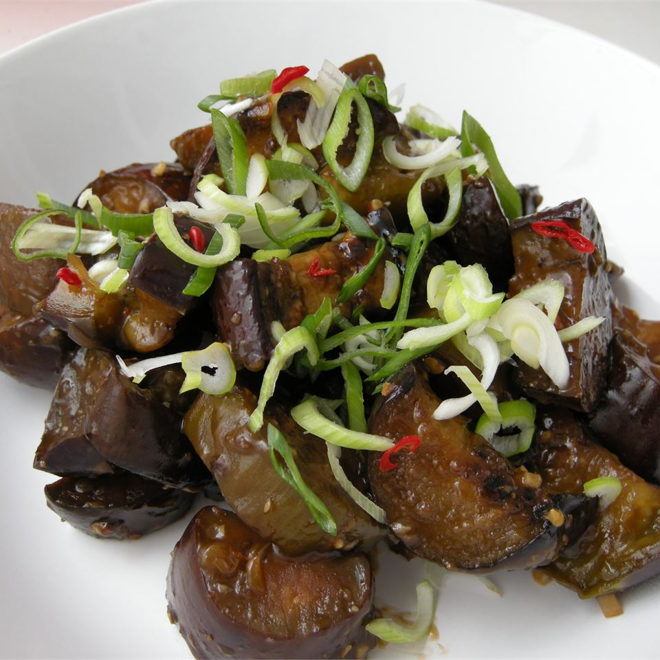 Eggplant with Garlic Sauce Whats that Burning smell?