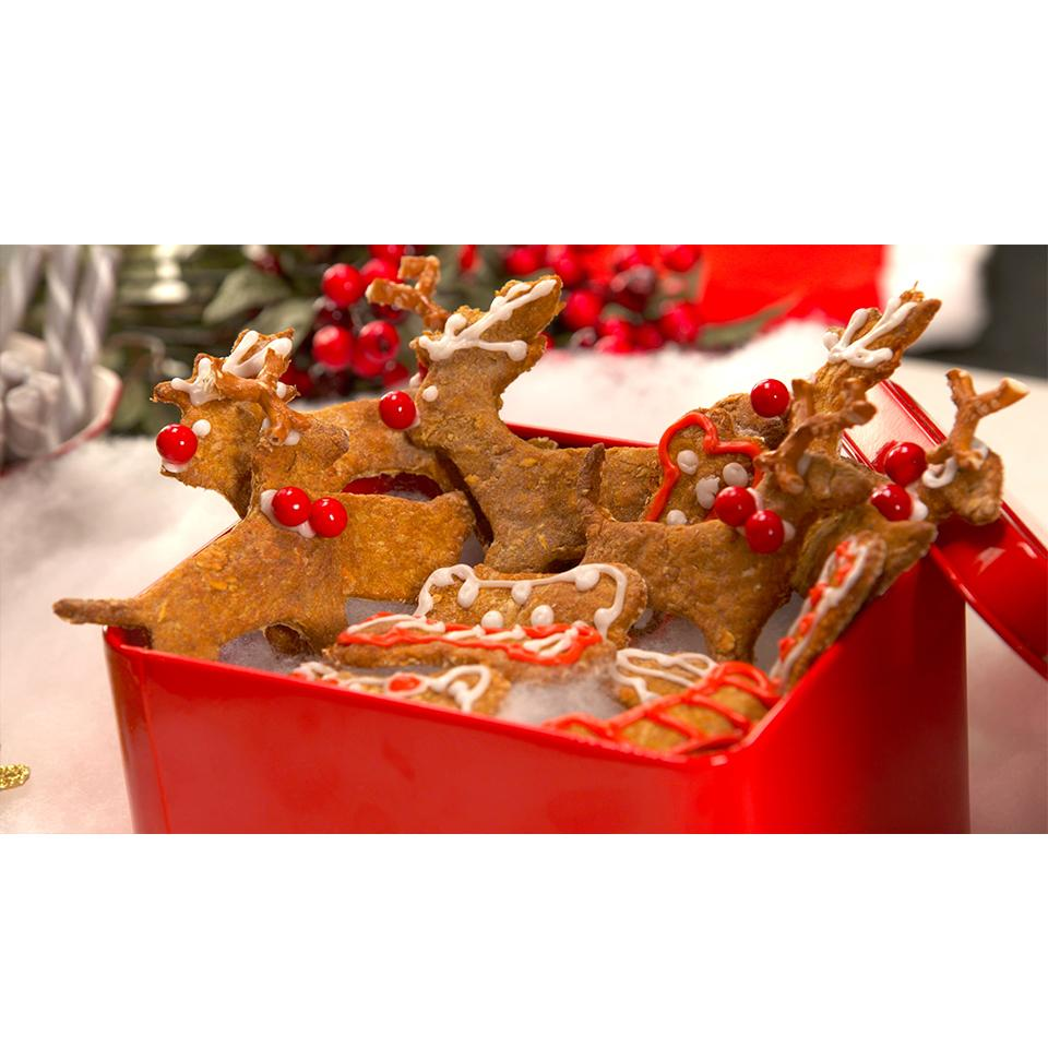 Cosmos Reindeer Cookie Dog Treats Allrecipes Trusted Brands