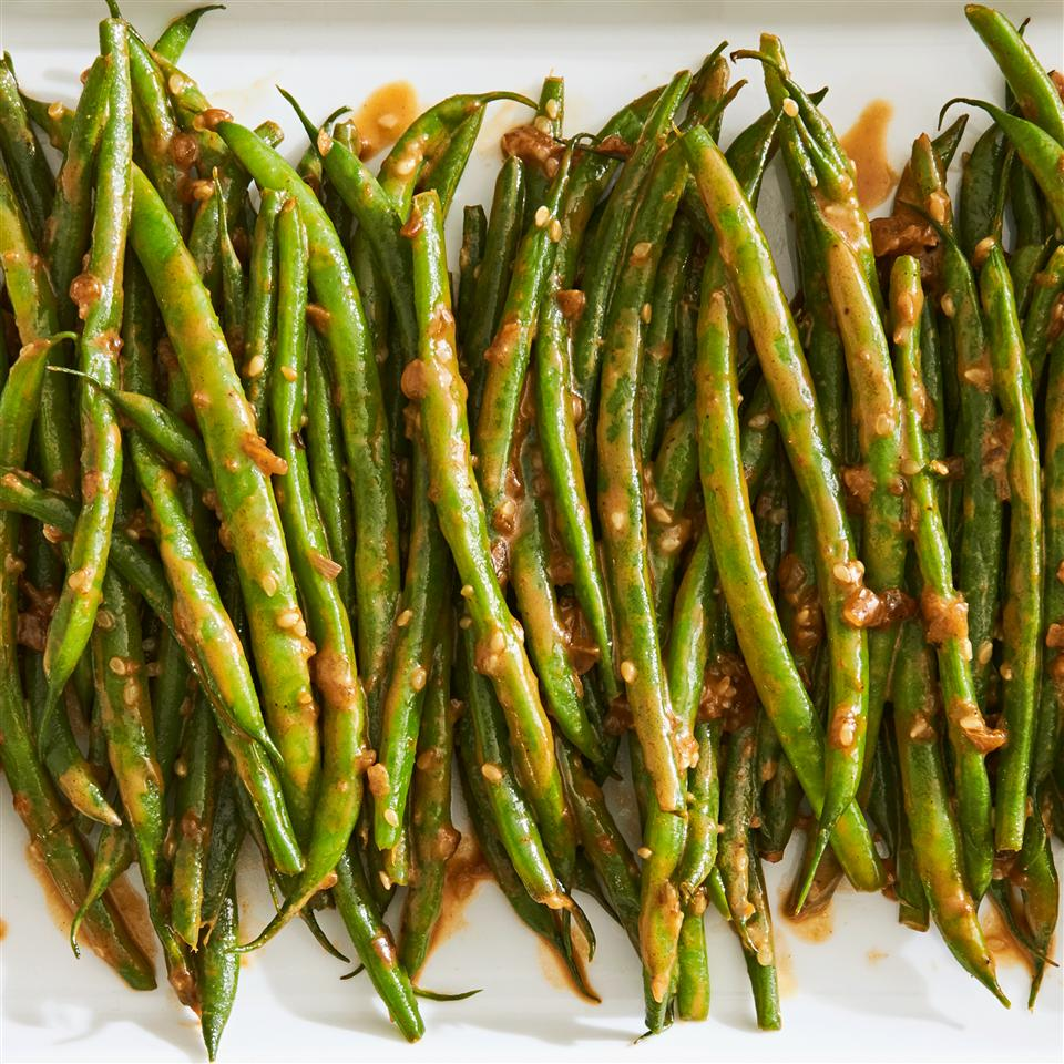Fresh Green Beans with Heaven Sauce