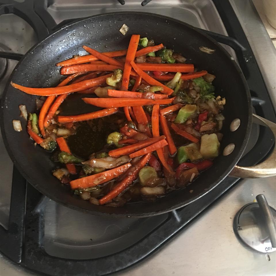 Ginger Veggie Stir-Fry