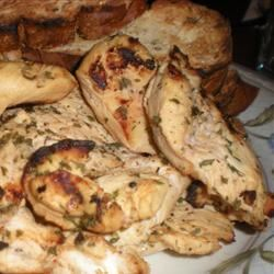 Jenny's Grilled Chicken Breasts