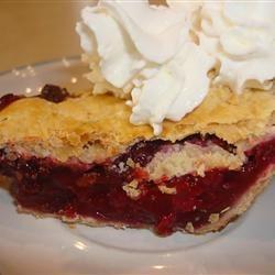 Blackberry-Chocolate Chip Pie
