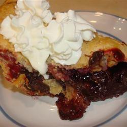 Blackberry-Chocolate Chip Pie CajunDee
