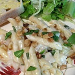 Gorgonzola Pear Pasta