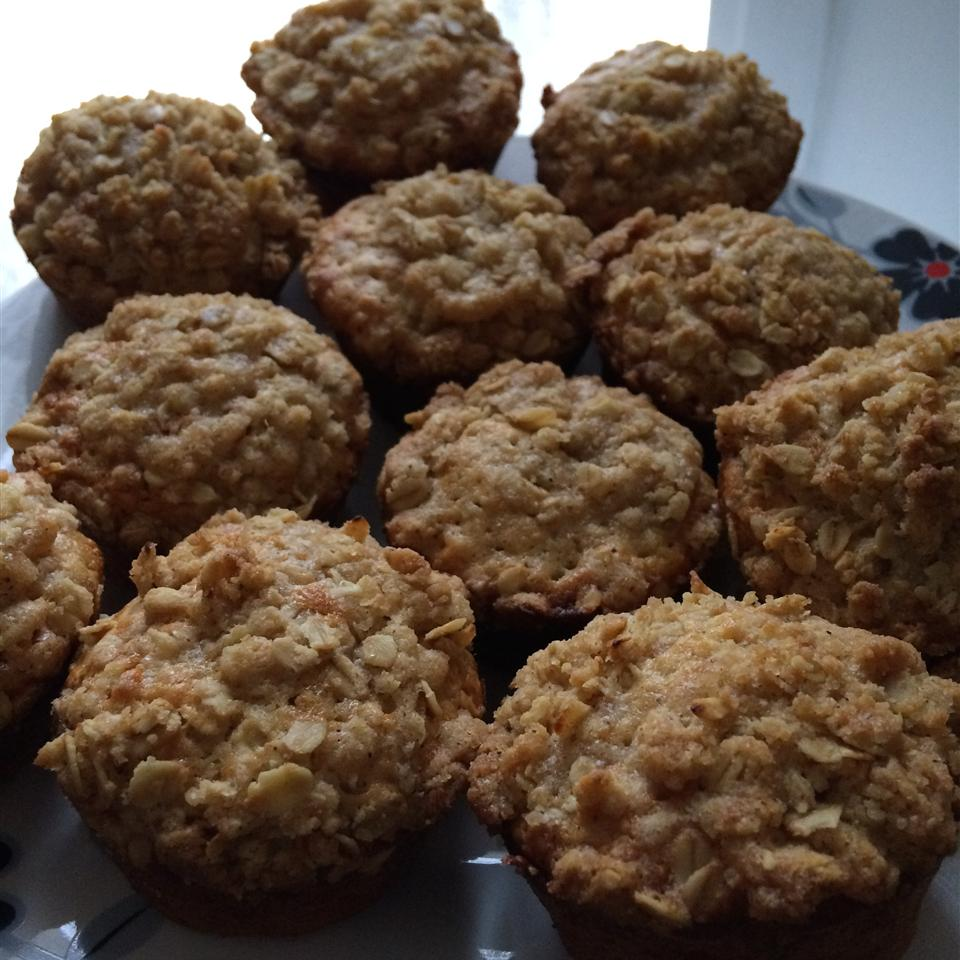 Best Oatmeal Muffins Blooberry