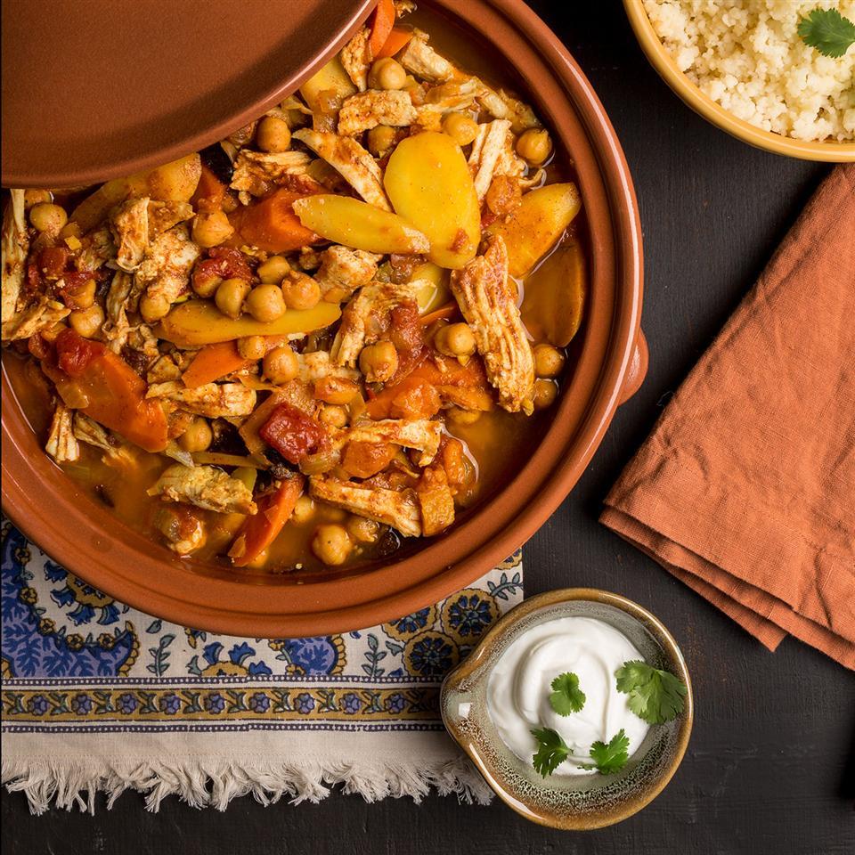 Moroccan Turkey Tagine Stew