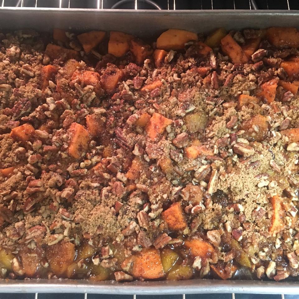 Sweet Potato Peach Bake Nancy