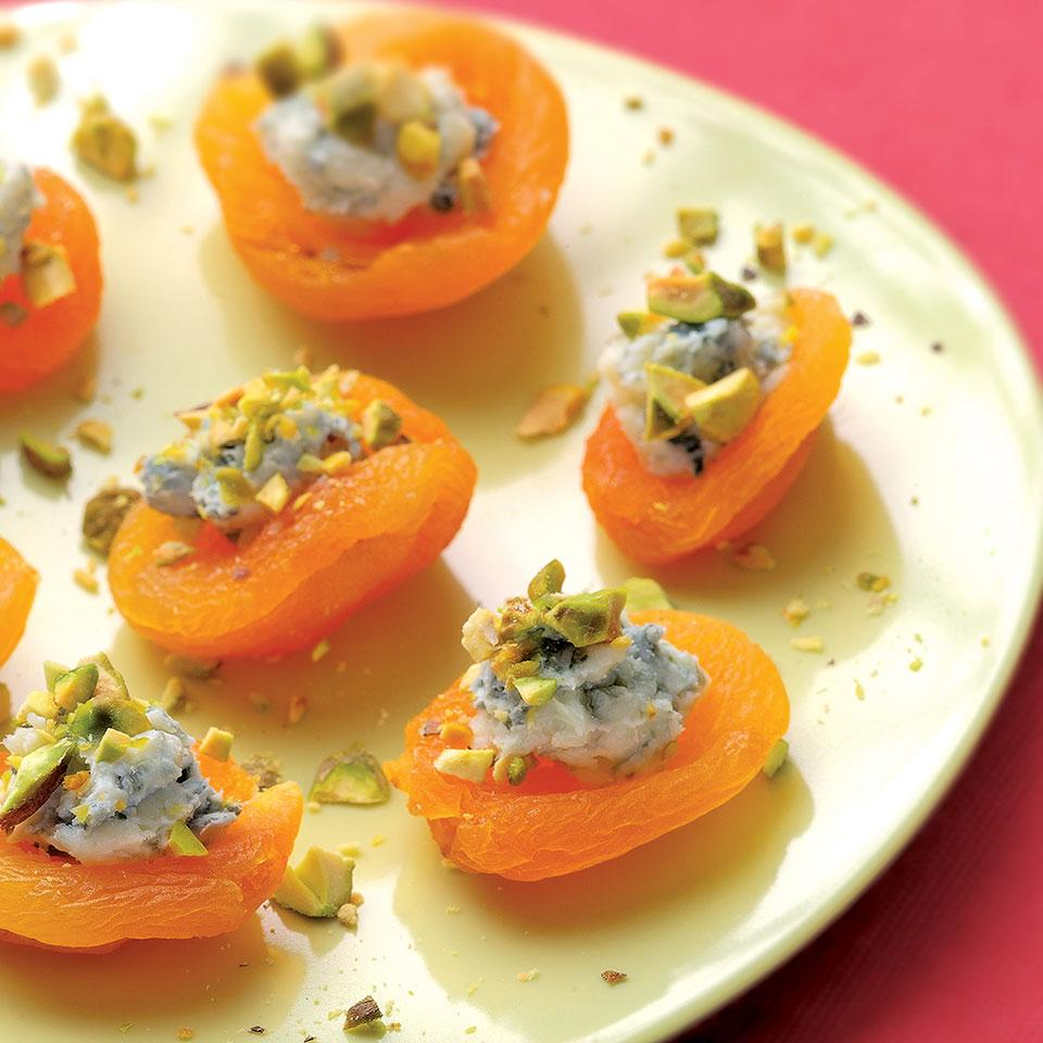 Apricot Canapes EatingWell Test Kitchen