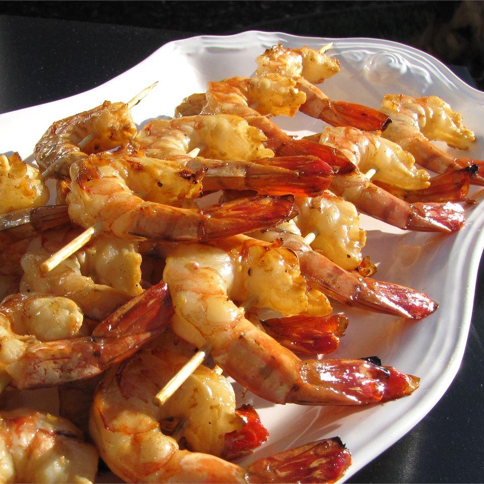 Honey Grilled Shrimp Kendra