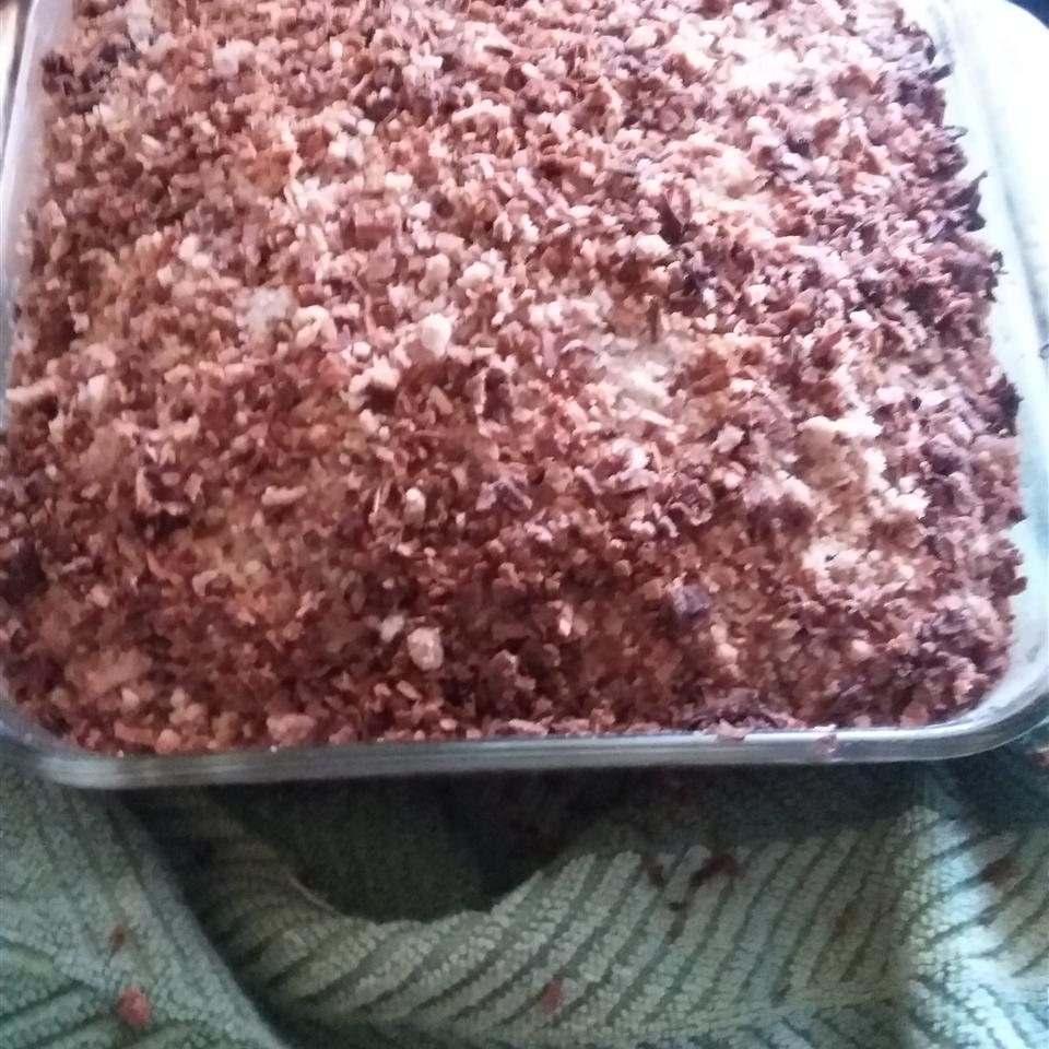 Toasted Coconut-Topped Blueberry Cake kris