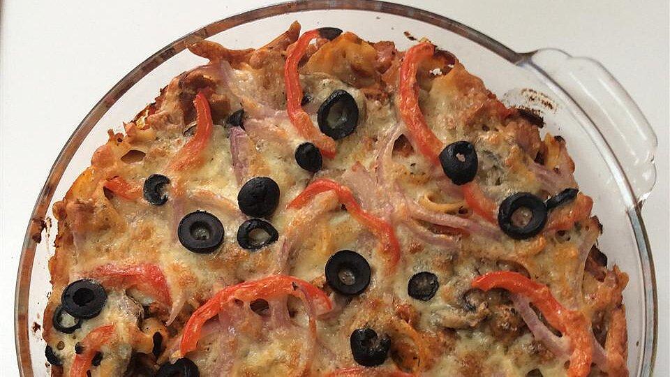 Pepperoni Pizza Casserole pattiG
