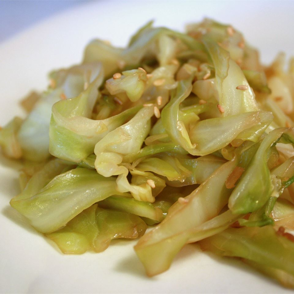 Super Easy Stir-Fried Cabbage