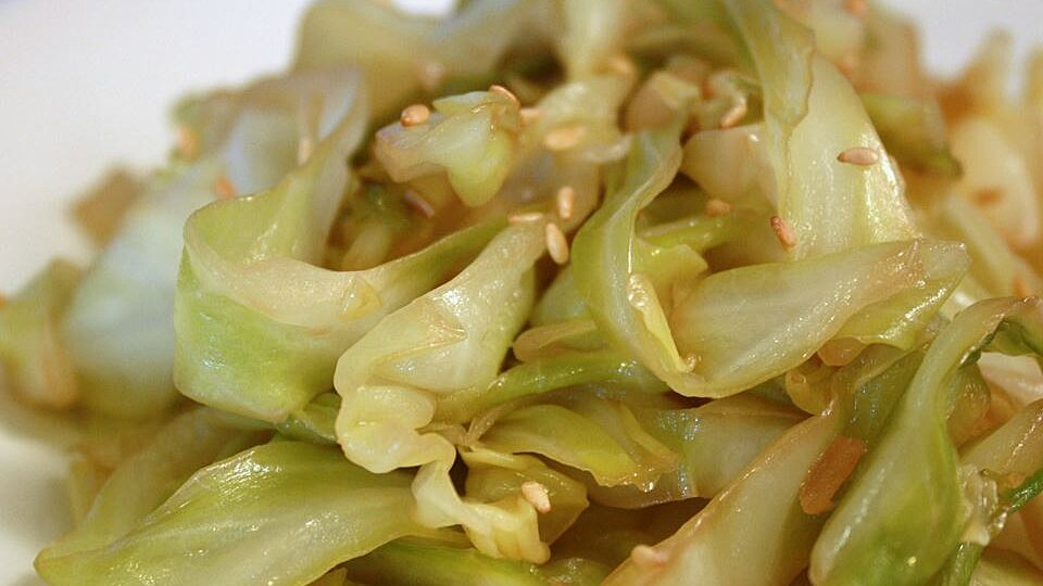 Super Easy Stir Fried Cabbage Recipe Allrecipes
