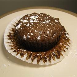 Fudgy Chocolate Chip Muffins