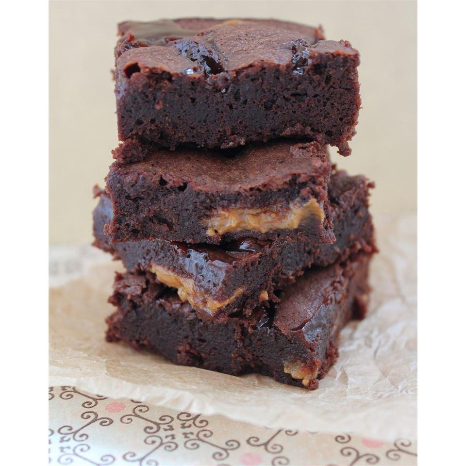 Dulce de Leche Brownies Roxybc