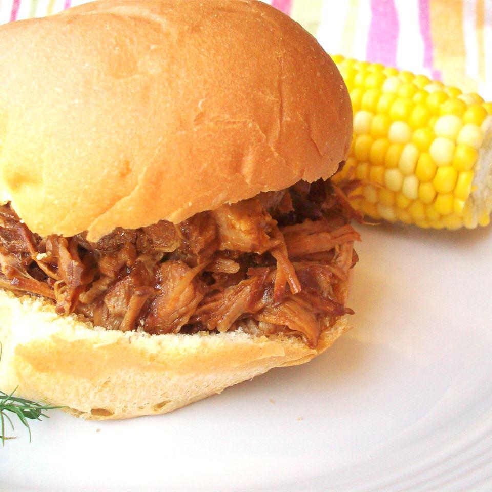 BBQ Pork for Sandwiches CookinBug