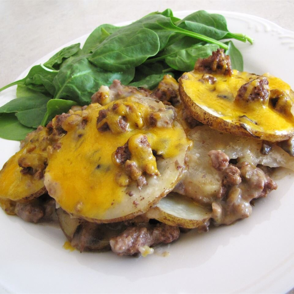 Hamburger Potato Casserole Recipe Allrecipes