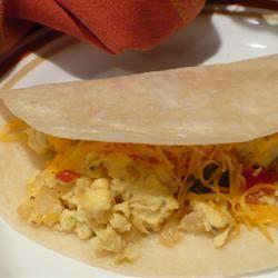 Southwest Breakfast Burritos SweetBasil