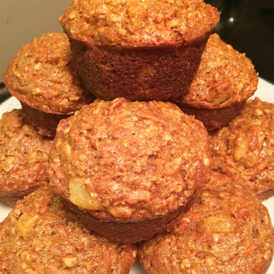 Carrot Oatmeal Muffins Claire Baggett