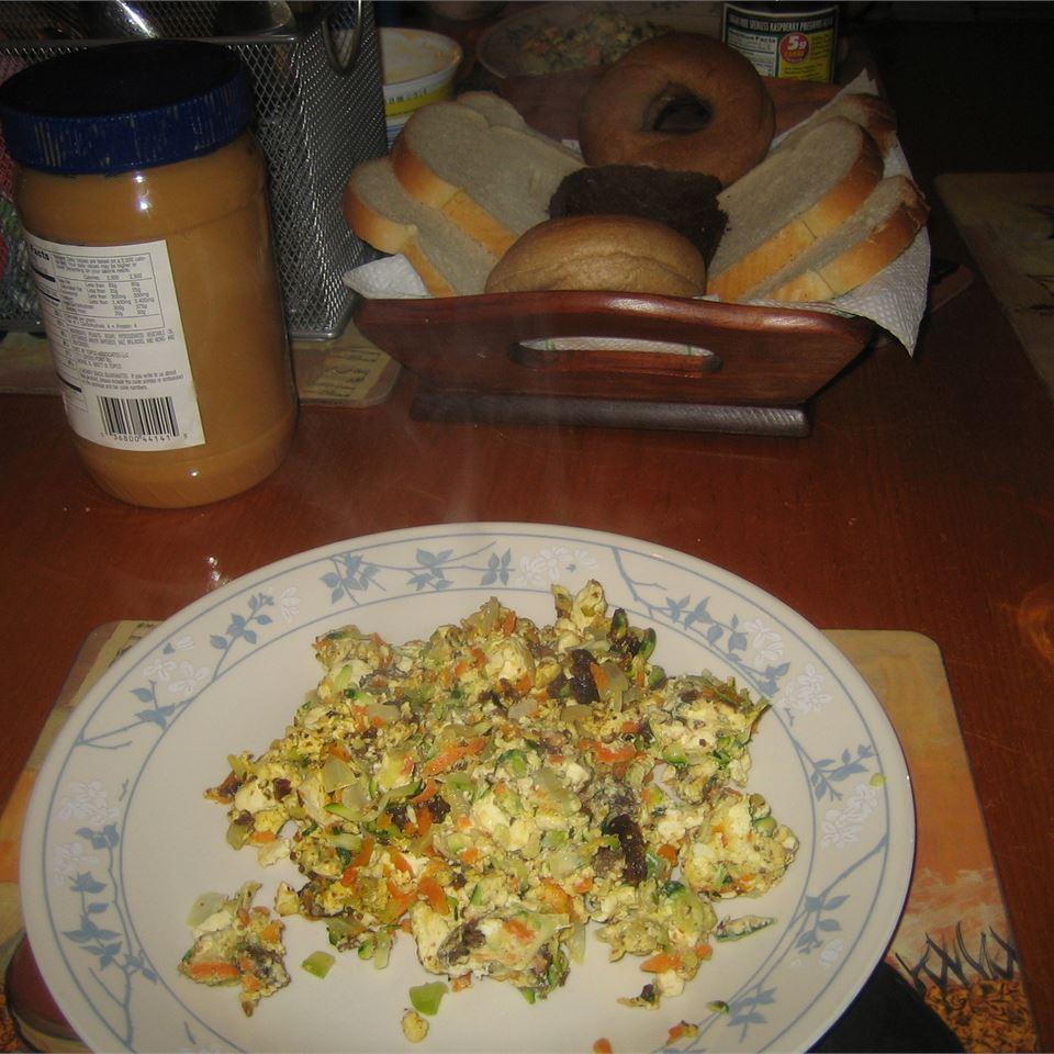 Vegetable and Tofu Burger Igal Vee