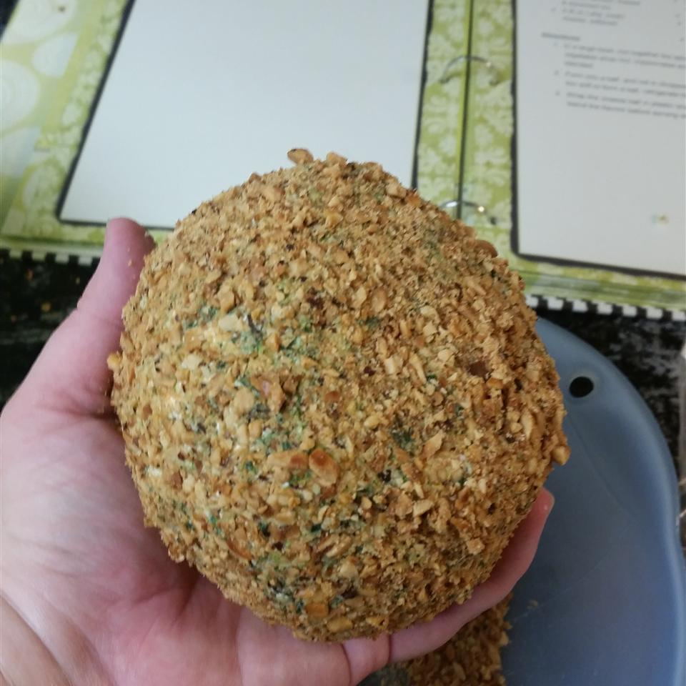 Spinach Cheese Ball Miss Dusty